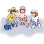 潮干狩りのコツとアサリのいる場所教えます!必要な道具や時期は?