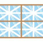 台風の対策で窓ガラスに貼るテープは?おすすめの○○テープが便利!
