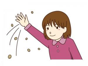 の 仕方 まき 豆