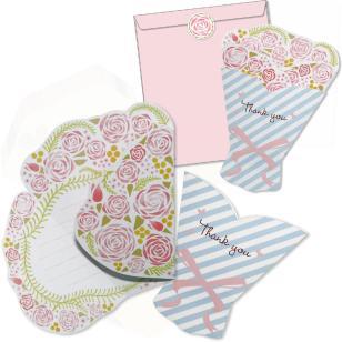 花束メッセージカードセット