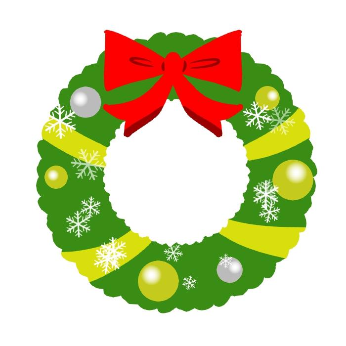 クリスマスリースを手作りしよう!子どもと一緒に紙で作れる!